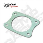 01-07 Diamond Eye GMC/Chevy Duramax Diesel Exhaust High Temp 4 Bolt Gasket AL