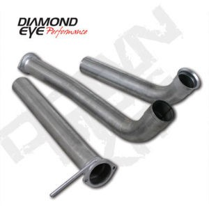 "03-07 Diamond Eye Ford Power Stroke  3.5"""" Off- Road Down Pipe Kit AL Incl.125032"