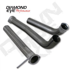 "03-07 Diamond Eye Ford Power Stroke 3.5""""Off Road Down Pipe Kit SS (Incl.165032 )"