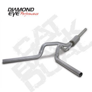 "04.5-07 Diamond Eye Dodge Cummins Diesel Truck Cat Back 4""""Dual Exhaust System AL"