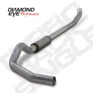 "04.5-07 Diamond Eye Dodge Cummins Diesel True Turbo Back 5"""" Exhaust System AL"