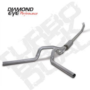 "04.5-07 Diamond Eye Dodge Cummins Turbo Back(Off Road) 4""""Dual Exhaust System AL"