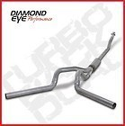 "04.5-07 Diamond Eye Dodge Cummins Turbo Back(Off Road) 4""""Dual Exhaust System SS"