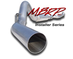"94-02 Dodge  Cummins Diesel Truck Turbo Back  5"""" MBRP Performance Exhaust System"