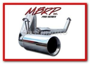 "94-02 Dodge Cummins Diesel Turbo Back T304 4"""" MBRP Performance Exhaust System"