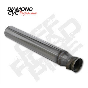 "94-97 Diamond Eye Ford Power Stroke 4"""" Off Road Pipe T409 Stainless Exhaust"