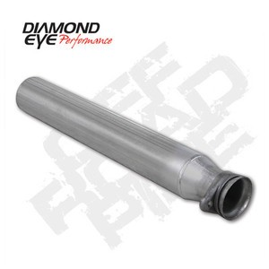 "94-97 Diamond Eye Ford Power Stroke Truck 4"""" Off Road Pipe Aluminized Exhaust"