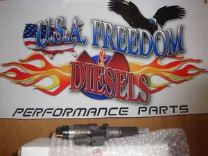 Chevy Gmc Duramax Diesel Bosch Injectors W USAFD 75 HP Nozzels 2001-2004 LB7