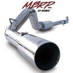 MBRP 03-04 Dodge Cummins Diesel Turbo Back- Single Side Exhaust (4WD Only)T409