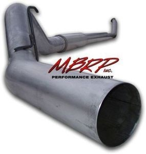 "MBRP 03-04 Dodge Ram Cummins Diesel 5""""Turbo Back-Single Side Exit Exhaust AL"
