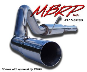 "MBRP 04.5-07 Dodge Ram 5"""" Cat Back,Single Single Side  Exhaust System T409 SS"