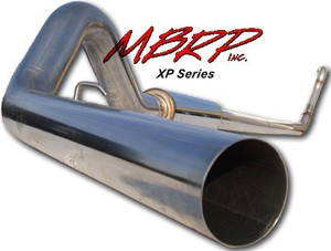 MBRP 94-97 Ford Powerstroke Truck Turbo Back Single Side Exhaust T409 Stainless