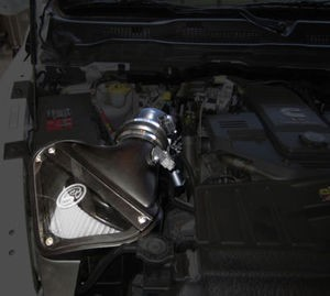 S&B Cold Air Intake Induction System With Dry Flow Filter 2010-2012 Dodge Diesel