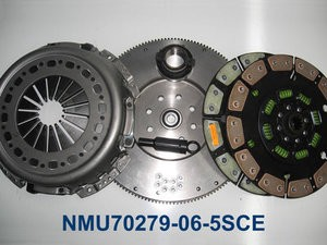 "Valair Clutch W Flywheel 89-04 5spd 500HP Ceramic Kev Single Disc 13"""" Conversion"
