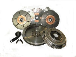 "Valair Triple Disc Clutch W Flywheel 89-04 5spd Competition 1200HP 12.00"""" x1.375"