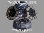 Valair Dodge G56 6 Speed 05.5-12 850HP Ceramic Race Dual Disc Clutch W/OUT Hydr