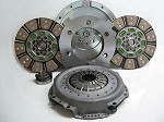 Valair Ceramic Buttons Dual Disc 650hp Clutch Dodge Cummins Diesel 6 Speed 00-05