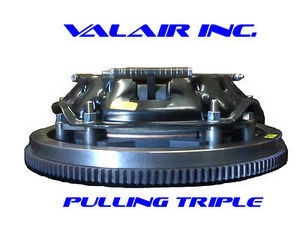 "Valair 10.5"""" Triple Disc 1300hp Clutch Dodge Cummins  NV5600 6 Speed 2000-2005"