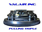 Valair Triple Disc Clutch WIith Flywheel 89-04 5spd Street 1200HP 10.00