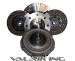 Valair Billet Flywheel Dual Disc 800hp Clutch Dodge Cummins NV5600 6 Speed 00-05