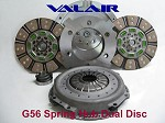 Valair 700hp Ceramic Dual Disc Clutch W Hydr Dodge Cummins G56 6 Speed 05.5-12