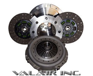 "QUIET"""" Valair Organic Towing Dual Disc 600hp Clutch Dodge NV5600 6 Speed 00-05"